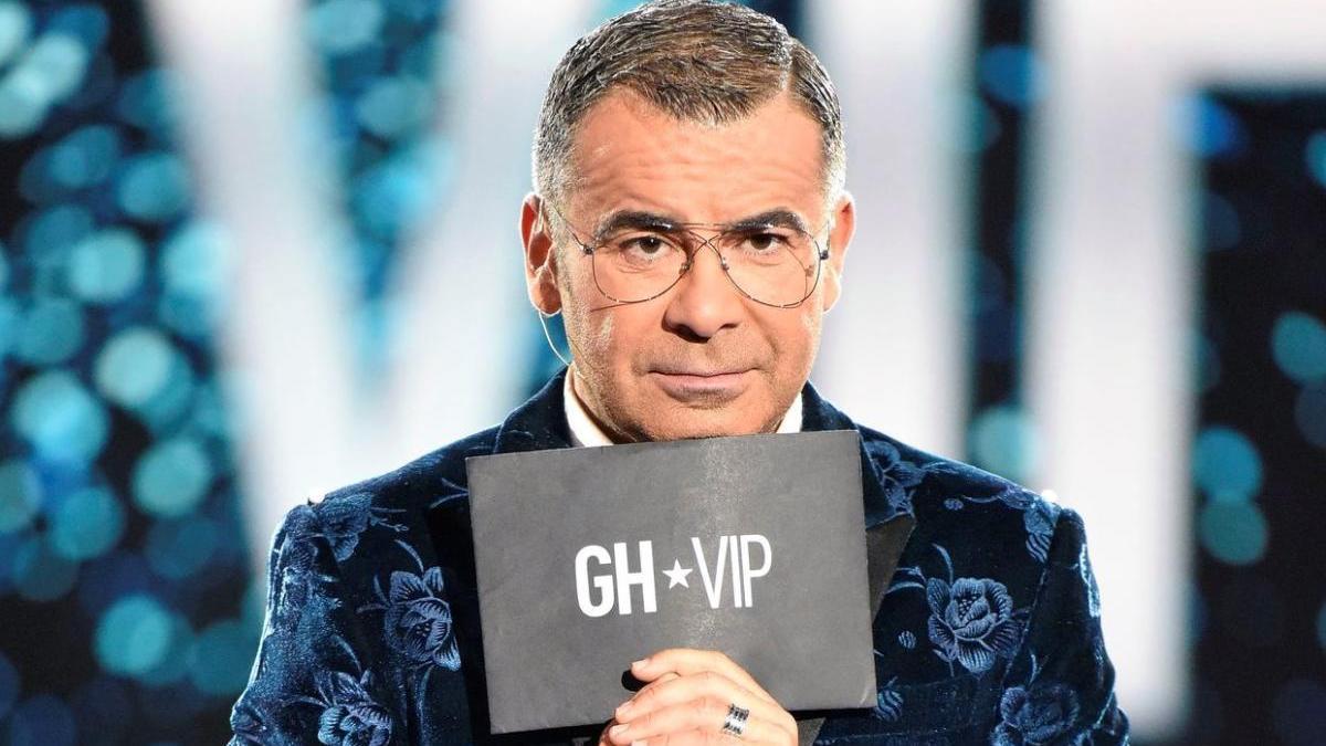 Jorge Javier Vázquez presentando 'GH VIP'.