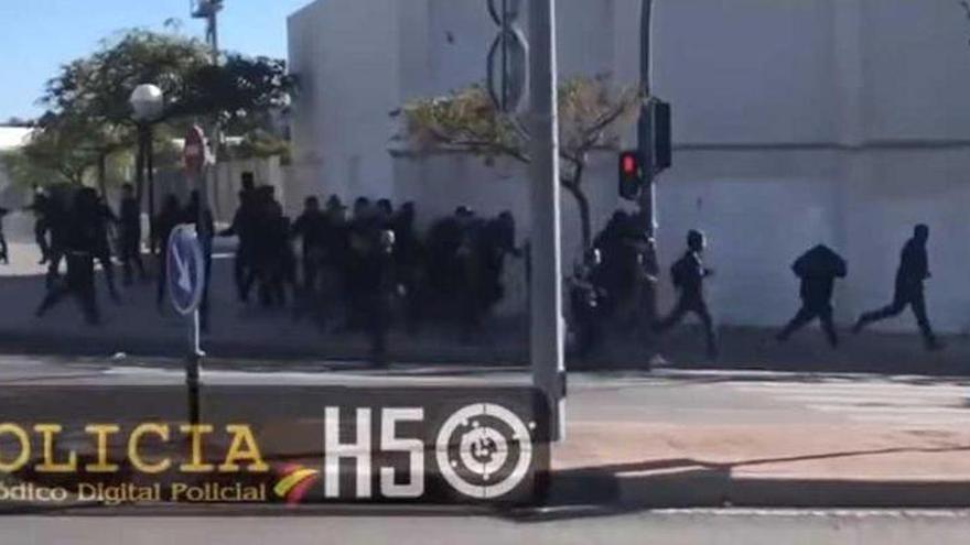 En libertad los detenidos por la pelea entre seguidores de Hércules y Castellón