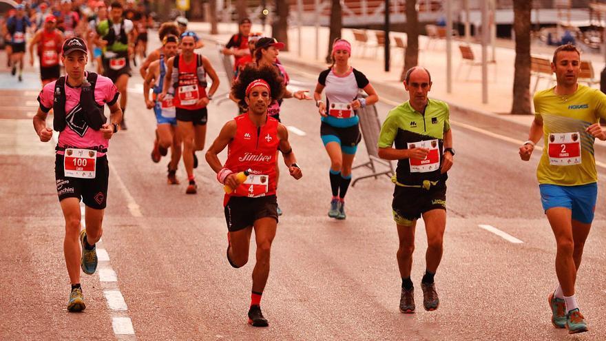 Zaid Ait Malik y Giuditta Turini conquistan la Ibiza Trail Maratón