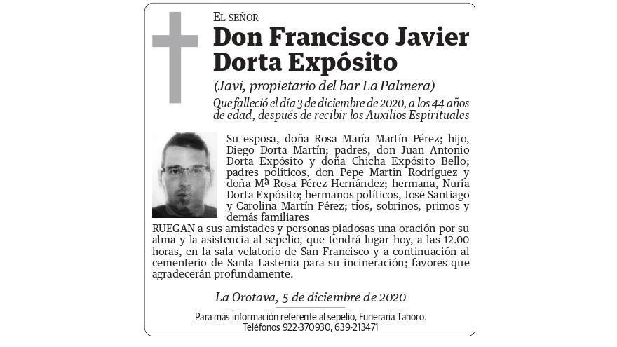 Francisco Javier Dorta Expósito