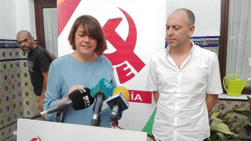 Cortés y Bustamante, elegidos responsables de las áreas feminista e institucional del PCA