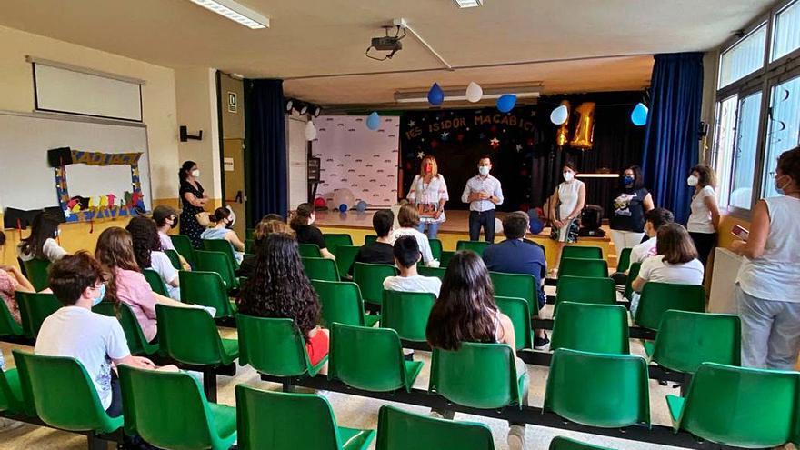 El IES Macabich de Ibiza, premiado por un trabajo sobre el patrimonio de Vila