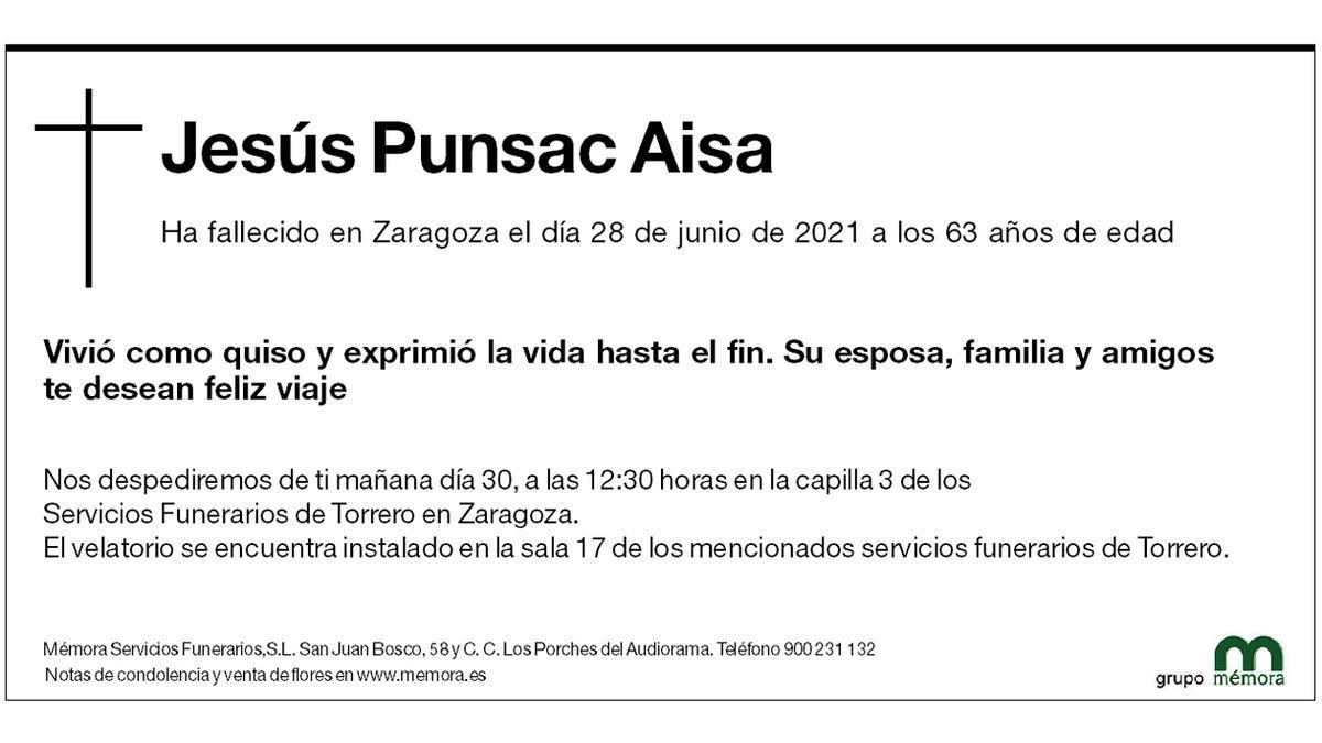 Jesús Punsac Aisa