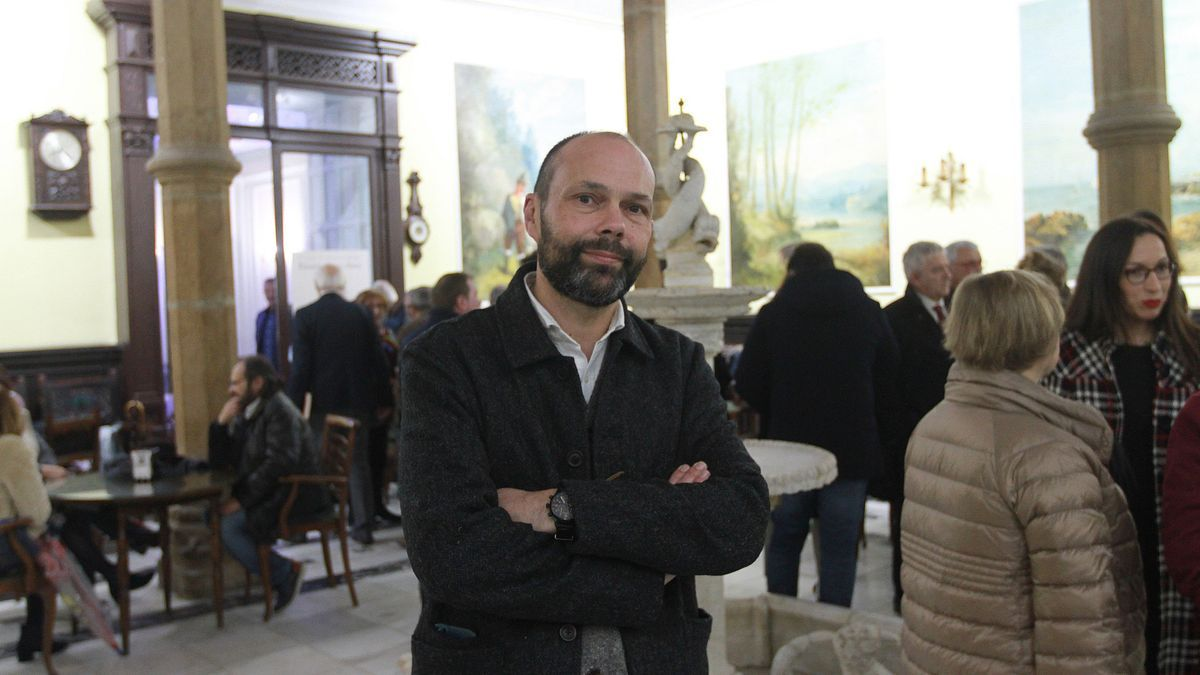 El escritor y periodista Xesús Fraga.