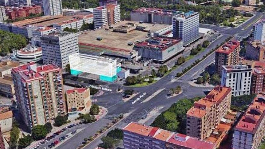 Urbanismo da vía libre al hotel de cinco plantas junto a Nuevo Centro y el IVO