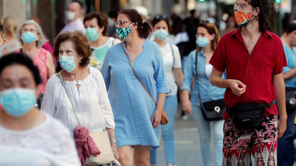 Seis nuevos positivos y dos fallecidos por coronavirus en las últimas 24 horas en la C.Valenciana