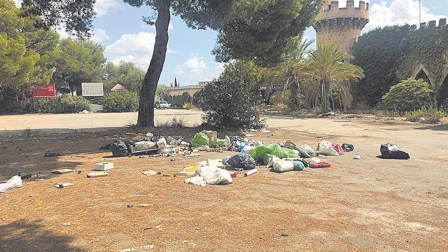 El Foro de Mallorca, la degradación imparable de un popular centro de ocio