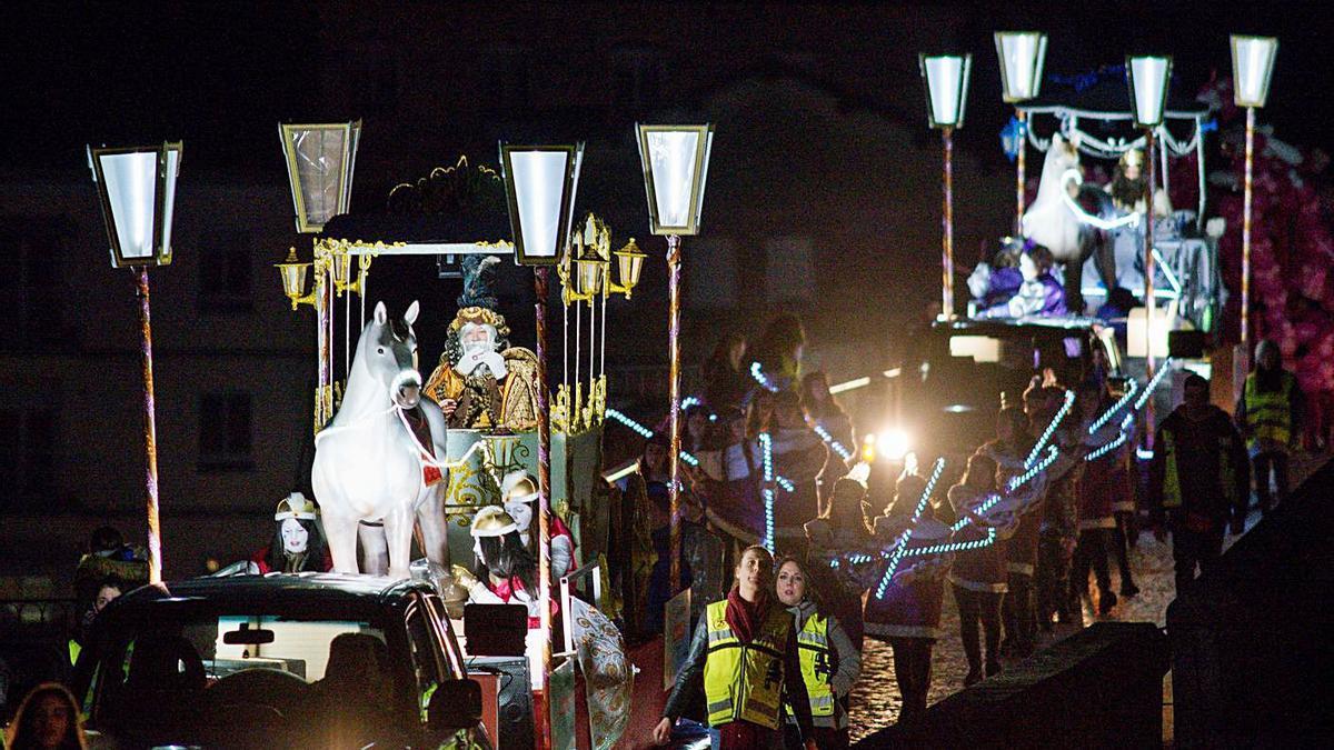 Cabalgata de Reyes del pasado año. |   // BRAIS LORENZO