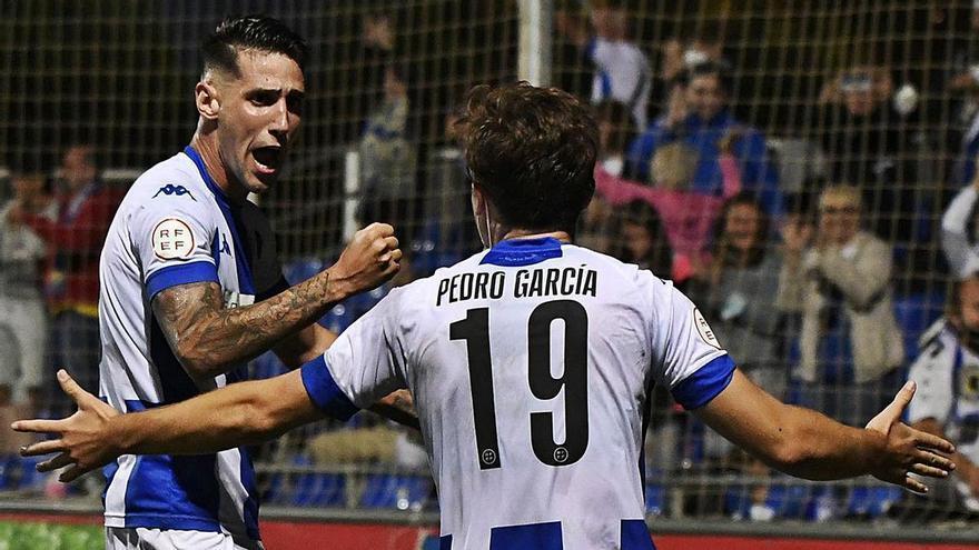Raúl: «Mi primer gol con el Hércules lo celebré con rabia, me quité un peso»