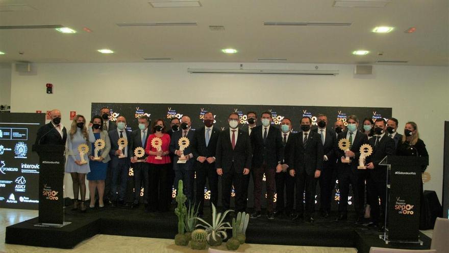 Covap, Masterchef, la Universidad Politécnica de Cartagena y Central Lechera Asturiana, Premios Sepor de Oro