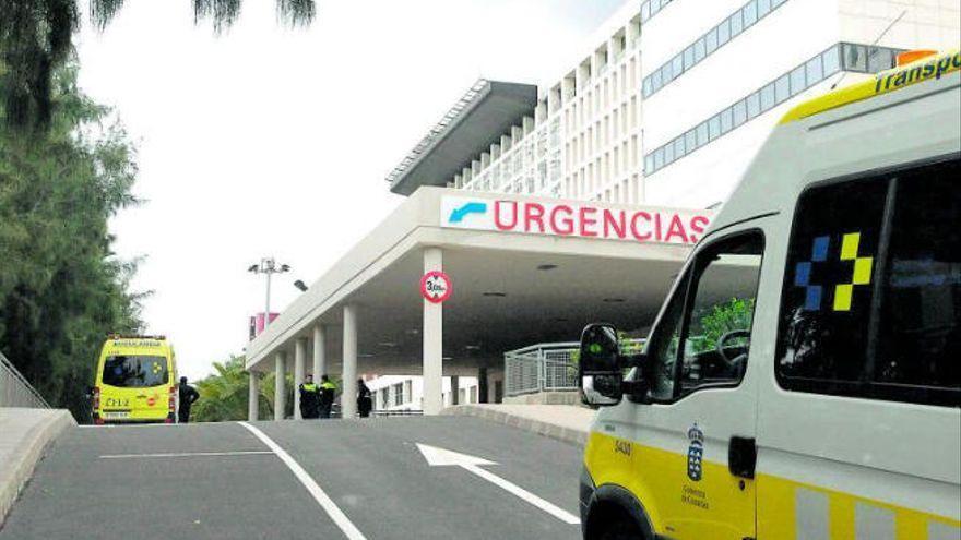 Herido tras caer con su moto por un desnivel en Gran Canaria