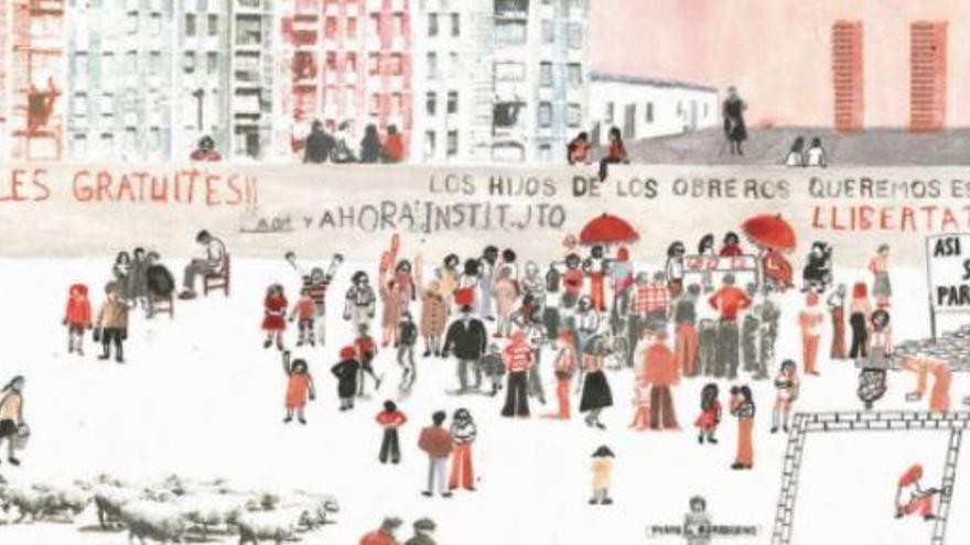 'En Transición', dibujos contra la complacencia