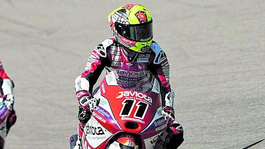 Sergio García Dols, a seguir brillando en el Gran Premio de Aragón