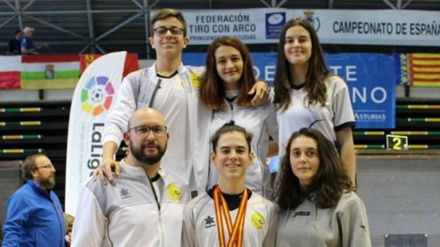 Lucha consigue el récord en el campeonato de España