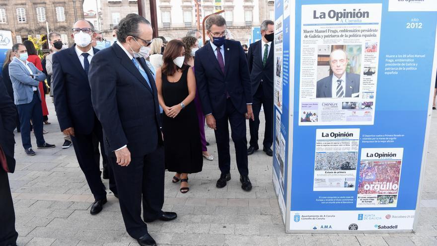 La crónica del siglo XXI coruñés: una exposición para celebrar los veinte años de LA OPINION