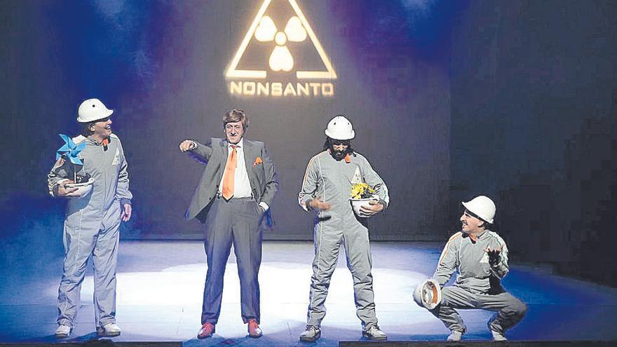 Yllana ofrece su particular visión del ecologismo
