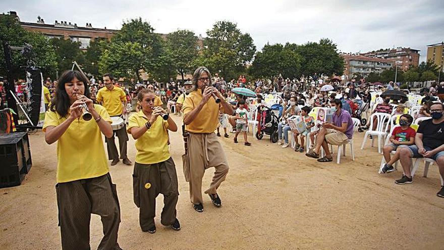 La Fal·lera Gironina anima les festes de la Devesa