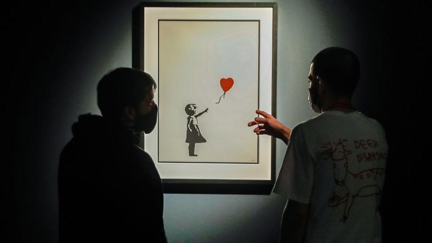 El arte urbano de Banksy ya está en Madrid