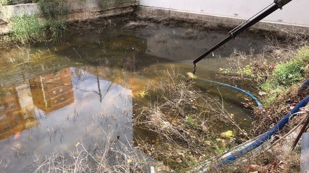 La acumulación de agua desaparecerá en unos días