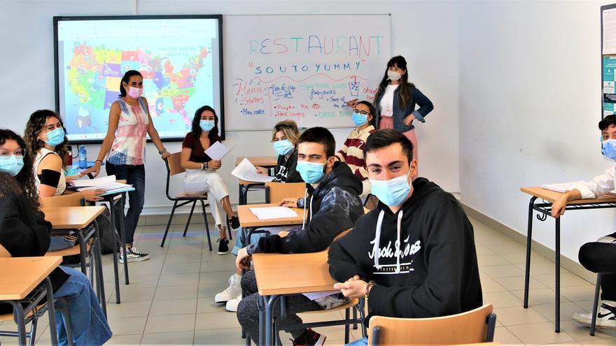 """IES de Soutomaior: """"aquí se habla inglés"""""""