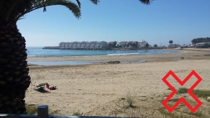 Playa de Les Fonts. Alcossebre.