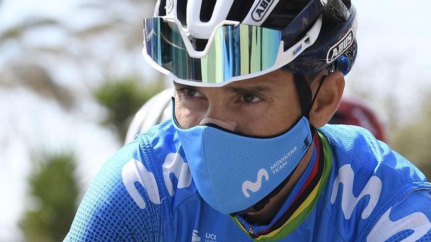 Valverde, a 14 segons del podi de la Volta 2021