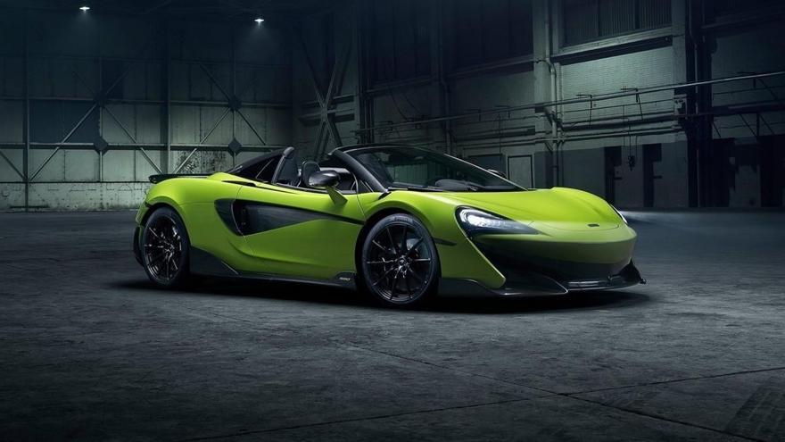 McLaren 600LT Spider 2020: más de 100 fotos en una súper galería