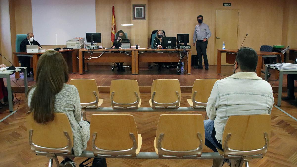 Primera sesión del juicio.