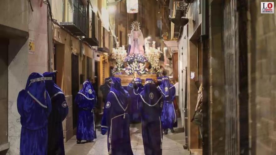 Procesión Viernes de Dolores en Caravaca