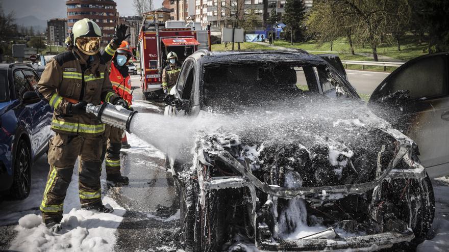 Vox carga contra la gestión del servicio de bomberos de Oviedo