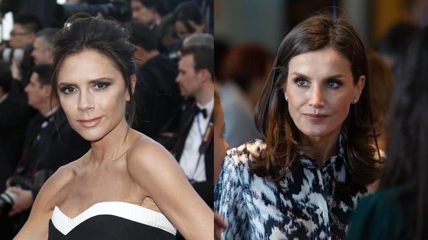 La reacción de Victoria Beckham al ver a la Reina Letizia con uno de sus vestidos