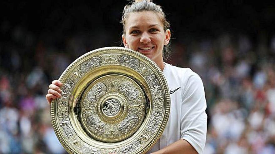 Simona Halep s'imposa a Serena Williams i guanya a Wimbledon