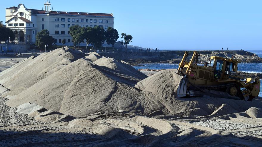 Las playas se preparan para los temporales