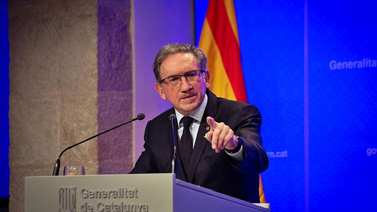 El conseller d'Economia i Hisenda, Jaume Giró | EP