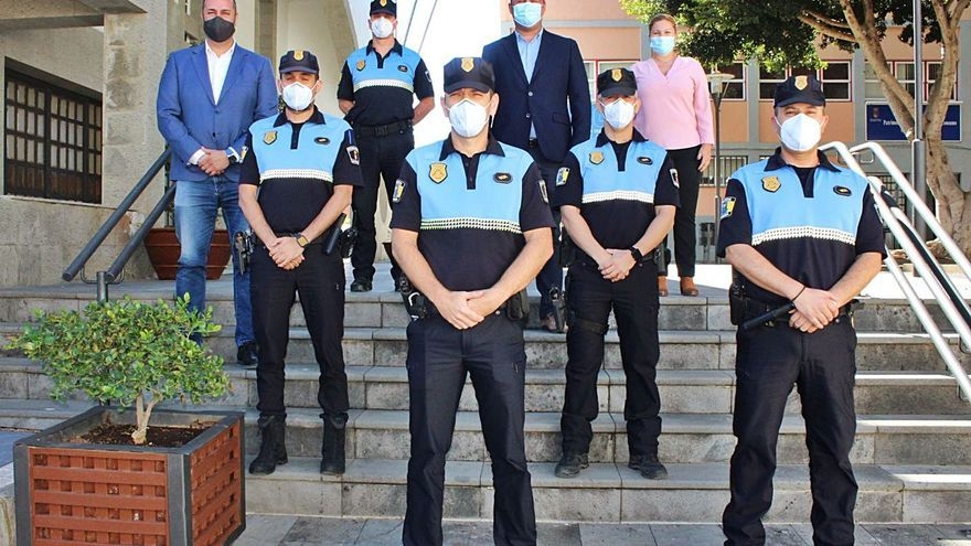 Más oficiales para la Policía de Granadilla