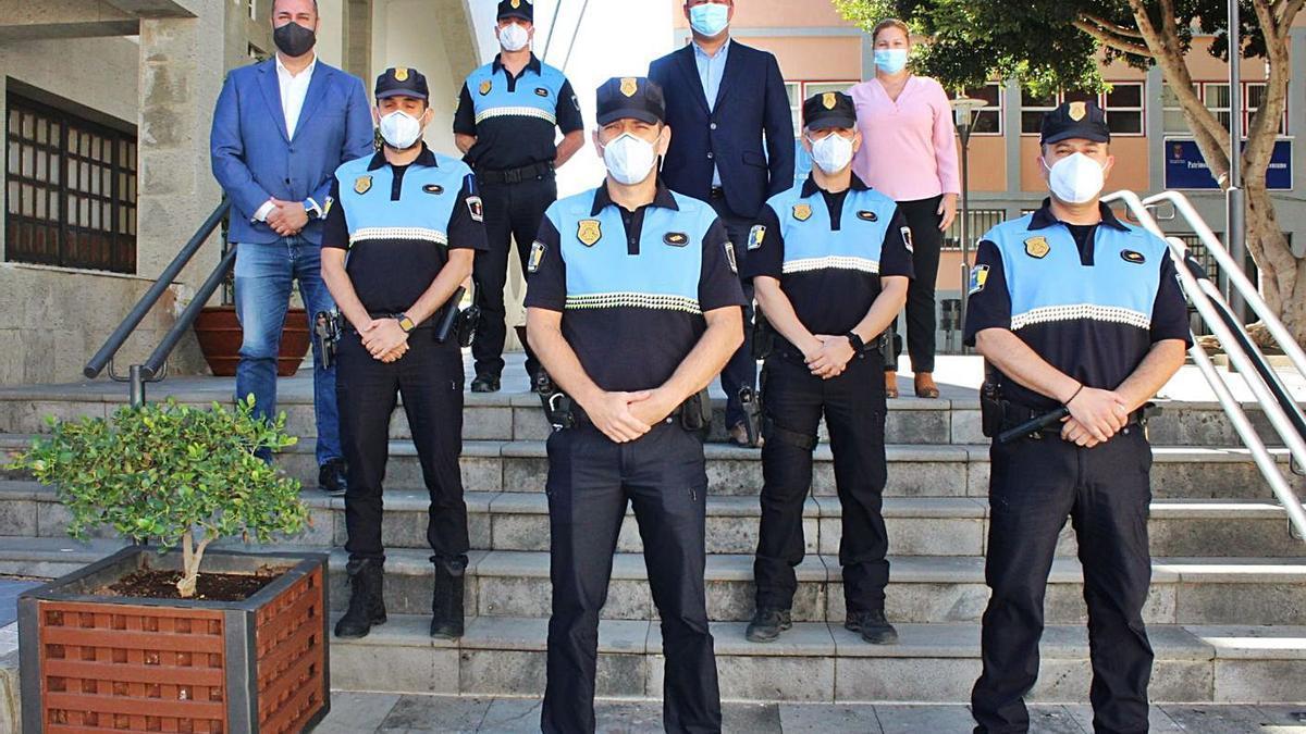 Más oficiales para la Policía de Granadilla   E.D.