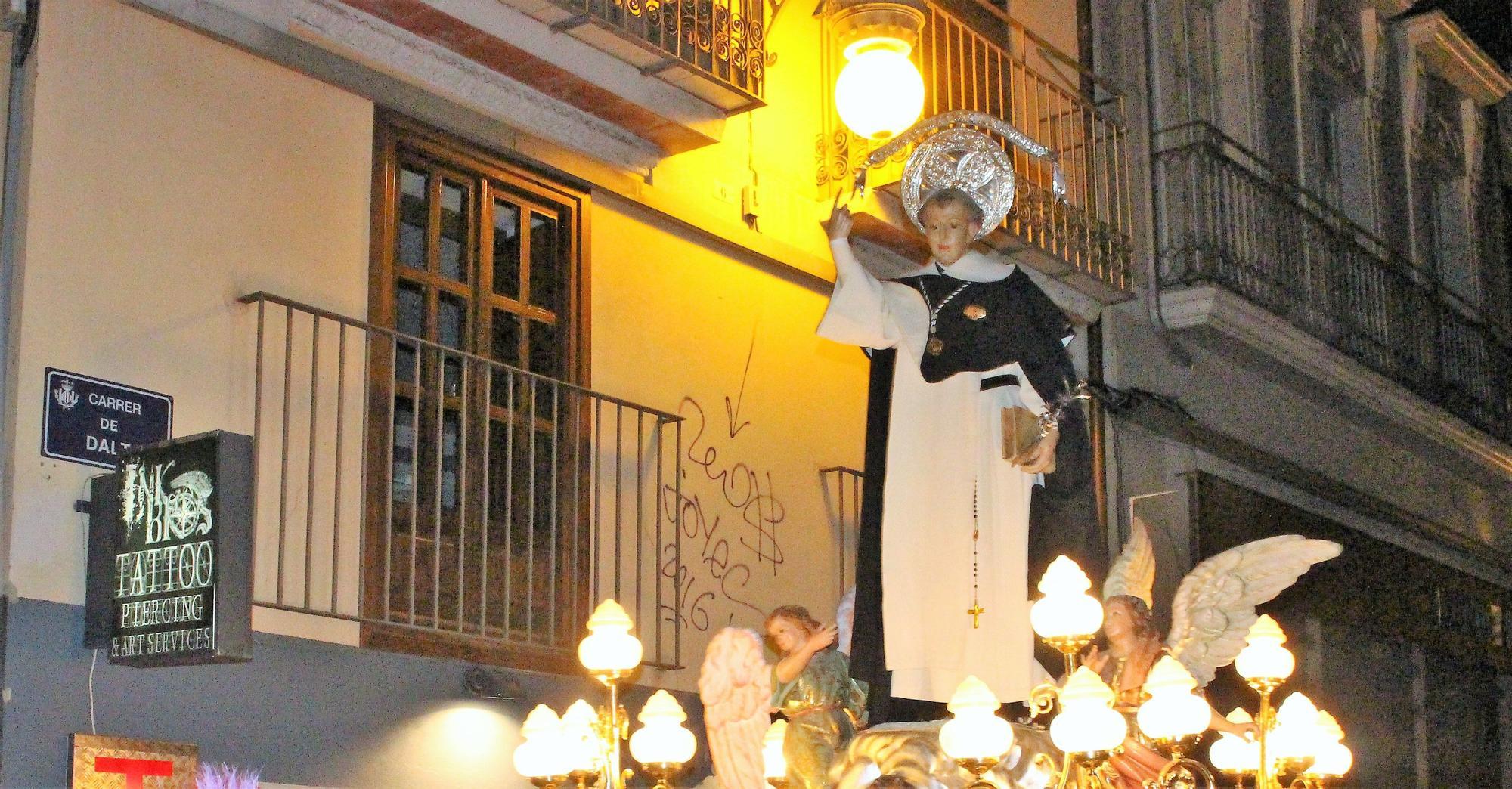 """""""Lo que el ojo no ve"""" en la fiesta de San Vicente Ferrer"""