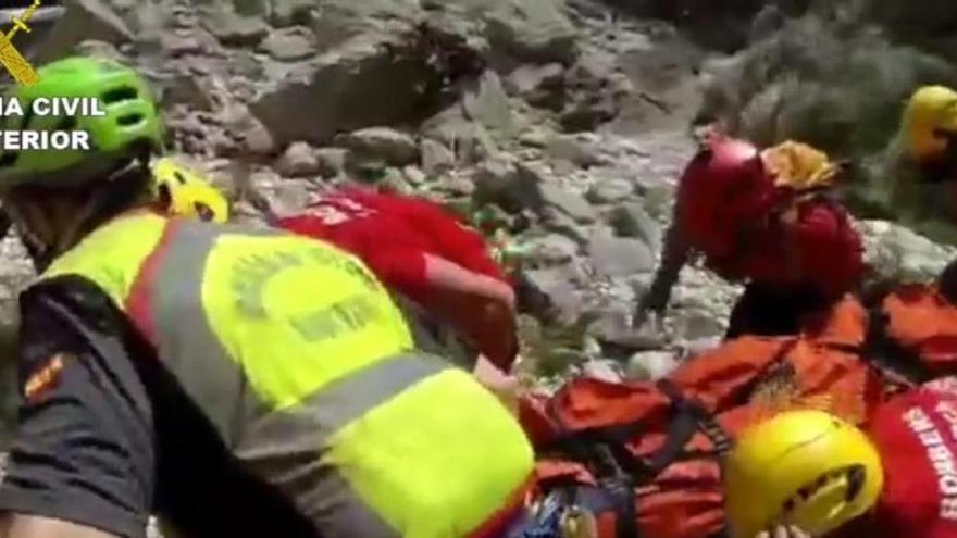 Wanderer nach Sturz mit dem Helikopter gerettet