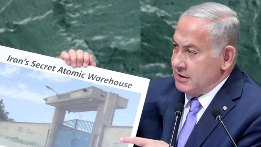 Israel asegura que Irán tiene un almacén nuclear secreto