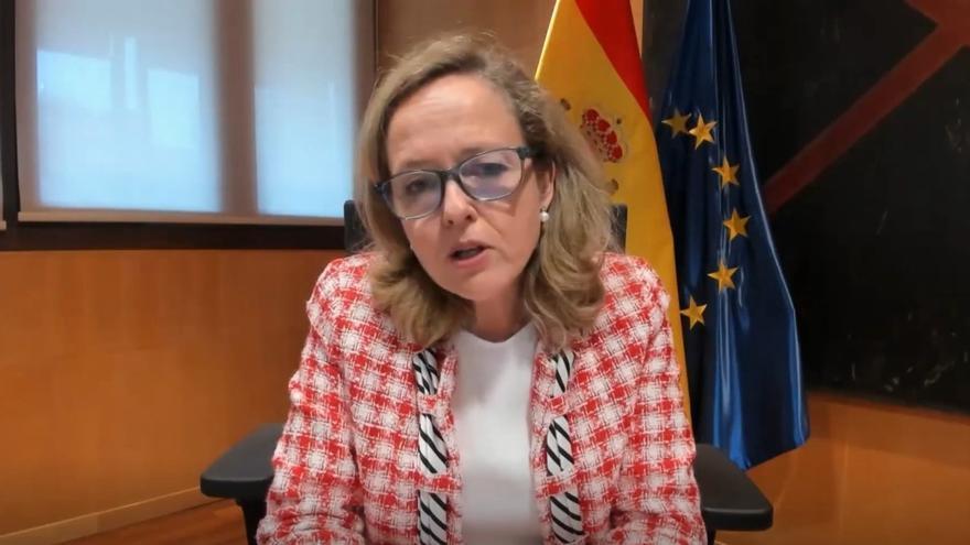 Calviño considera que los ERE de la banca deben ir enfocados a la voluntariedad y la reducción de afectados