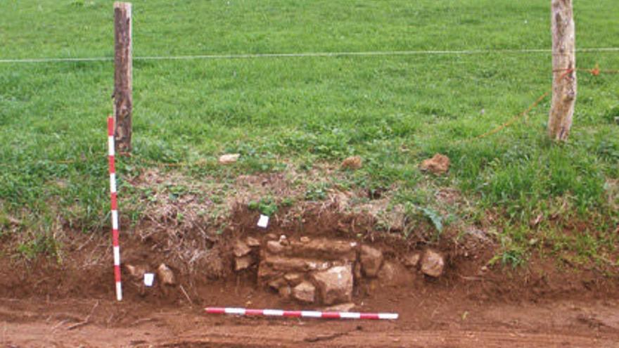 Detectan un nuevo edificio en el área de la villa romana de San Martín de La Estaca