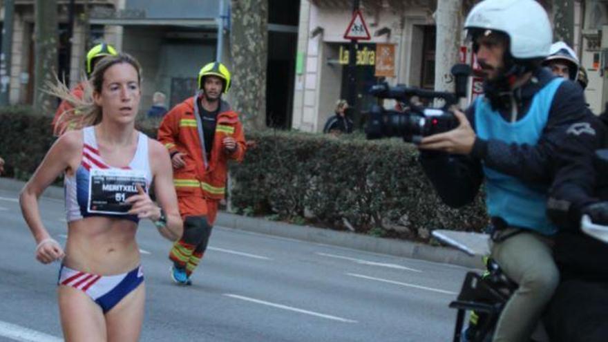 Meritxell Soler guanya la cursa dels Bombers