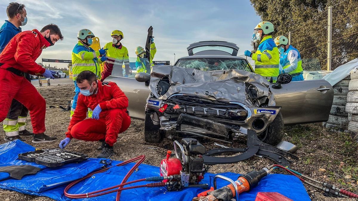 Fallece un joven de 18 años en un accidente en el Ciruito del Jarama.