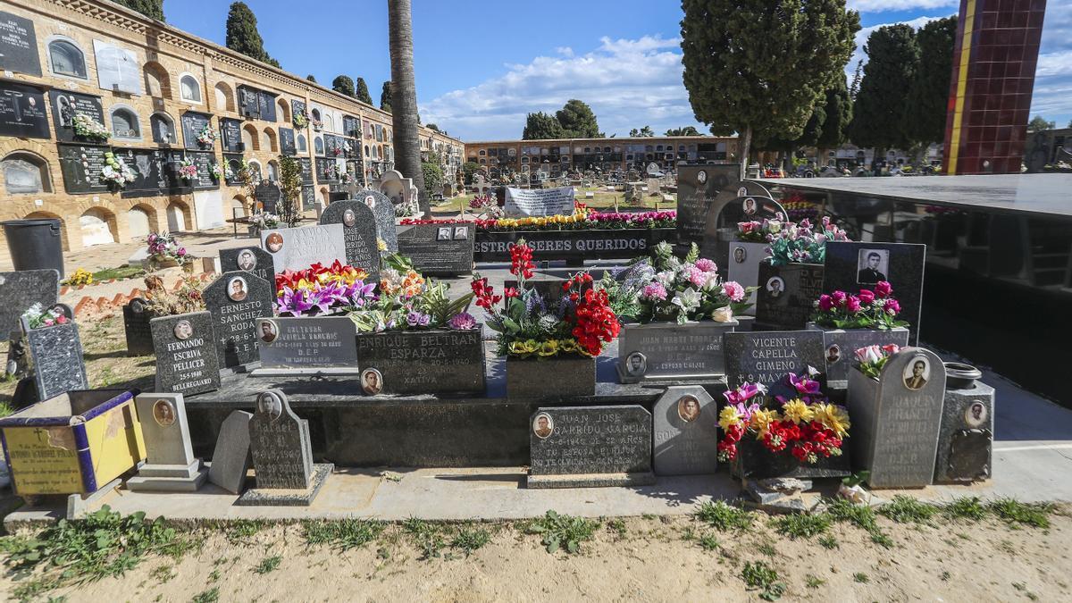 Fosa 114 del cementerio de Paterna