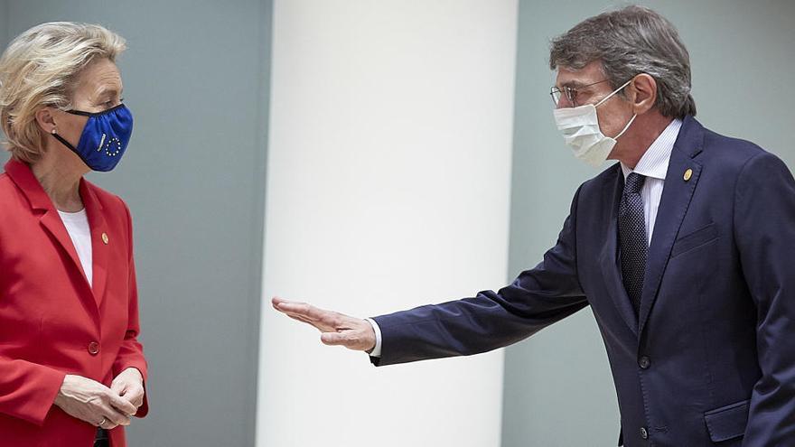 La Eurocámara devuelve la presión sobre el fondo de recuperación a los Veintisiete