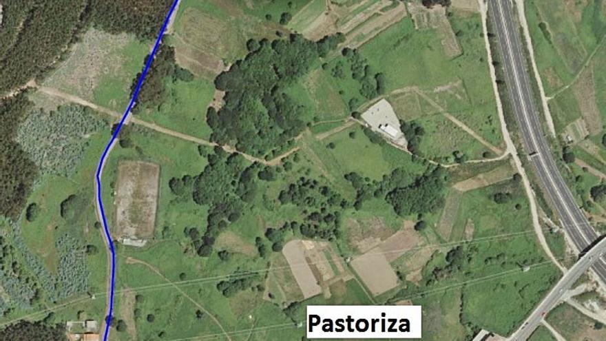 Concello y Diputación mejorarán caminos rurales y repararán la red de agua en Pastoriza