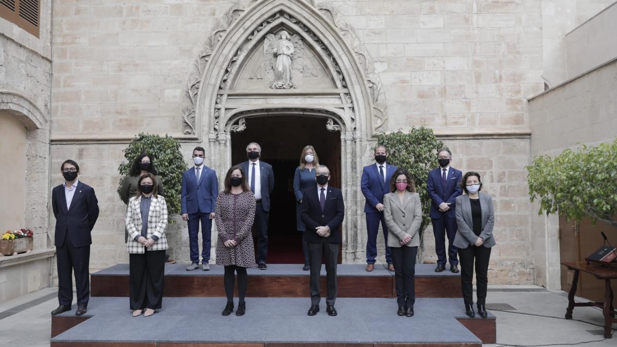El nuevo Govern de Francina Armengol