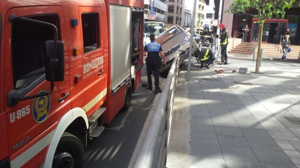 Accidente en Albareda (05/12/17)