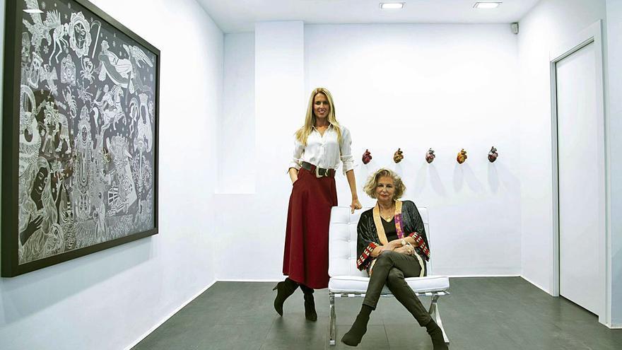 """Diana Llamazares asume la galería de su madre: """"Nada mejor que su aprendizaje"""""""