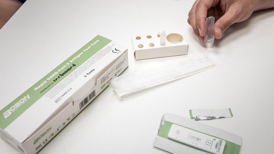 """Denegada la petición de COFIB para que los test de antígenos tengan """"validez oficial"""""""